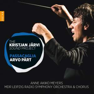 The Kristjan Järvi Sound Project - Arvo Pärt: Passacaglia Product Image
