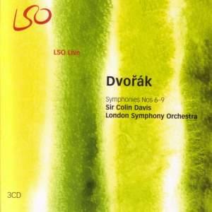 Dvorak - Symphonies Nos. 6 - 9