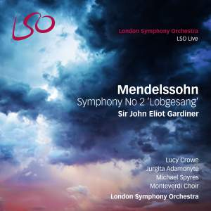 Mendelssohn: Symphony No. 2 in B flat major, Op. 52 'Lobgesang' Product Image