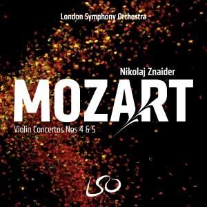 Mozart: Violin Concertos Nos. 4 & 5 Product Image