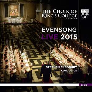 Evensong Live 2015 Product Image