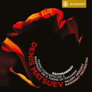 Rachmaninov - Rhapsody on a Theme of Paganini & Piano Concerto 3 Product Image