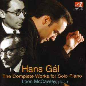 Hans Gál - The Complete Solo Piano Works