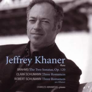Brahms: Flute Sonatas Nos. 1 & 2, Op. 120 (arrangements of Clarinet Sonatas), etc.