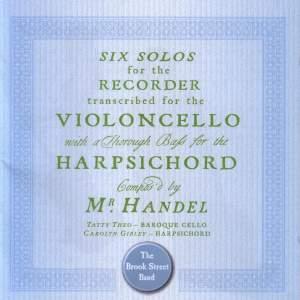 Handel - Sonatas for Cello