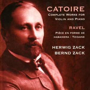 Georgy Catoire - Complete works for violin & piano Product Image