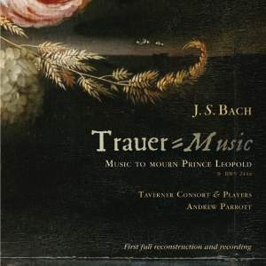 J S Bach: Trauer-Music