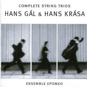Hans Gál & Hans Krasa: Complete String Trios