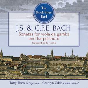 JS & CPE Bach: Sonatas for Viola da Gamba and Harpsichord