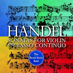 Handel: Sonatas For Violin and Basso Continuo Product Image