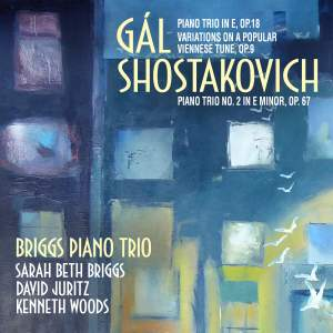 Gál: Piano Trio, Op. 18. Variations, Op. 9 & Shostakovich: Piano Trio No. 2 Product Image