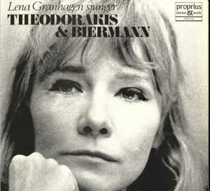 Lena Granhagen sings Theodorakis & Biermann Product Image