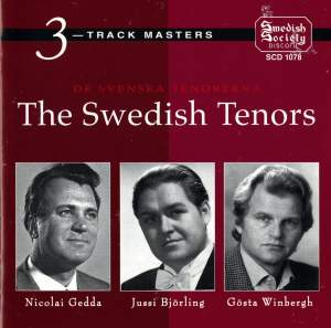 De Svenska Tenorerna -The Swedish tenors (Björling / Gedda / Winbergh)