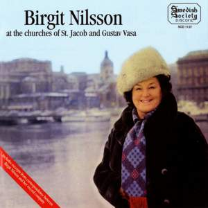 Birgit Nilsson at the Churches of St Jacob and Gustaf Vasa