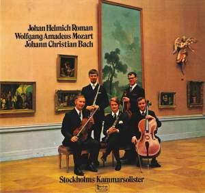 Roman, Mozart, & JC Bach: Chamber Music