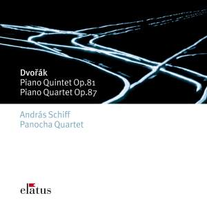 Dvorak: Piano Quintet in A major, Op. 81, etc. Product Image