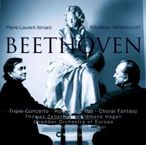Beethoven: Fantasia, Triple Concerto & Rondo for piano & orchestra