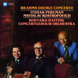 Brahms: Double Concerto for Violin & Cello in A minor, Op. 102 Product Image