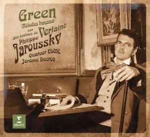 Green - Melodies françaises on Verlaine's poems