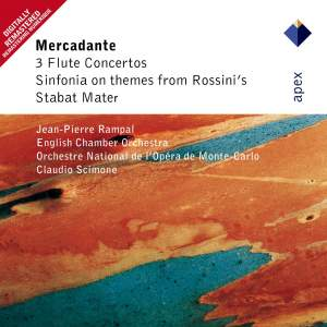 Mercadante: Flute Concertos & Sinfonia on themes from Rossini's Stabat Mater