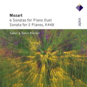 Mozart: Six Sonatas for piano duet & Sonata for Two Pianos K448