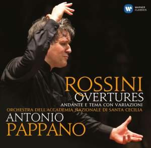 Rossini: Overtures & Andante e tema con variazioni