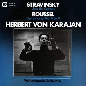 Stravinsky: Jeu de Cartes & Roussel: Symphony No. 4