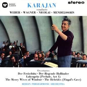 Karajan conducts Weber, Wagner, Nicolai & Mendelssohn