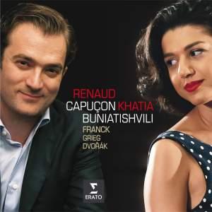 Franck, Dvorak, Grieg: Violin Sonatas