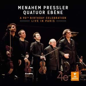 Menahem Pressler & Quatuor Ebène 90th Anniversary Concert Product Image