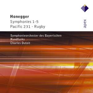 Honegger: Symphonies Nos. 1-5 & Two Movements symphoniques