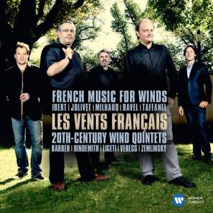 Les Vents Français: French Music for Winds & 20th Century Wind Quintets Product Image