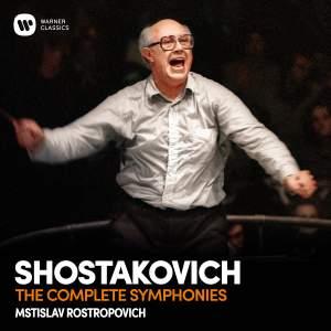 Shostakovich: Symphonies Nos. 1-15 (complete)