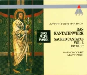 JS Bach: Sacred Cantatas Vol.6 - BWV 100-117