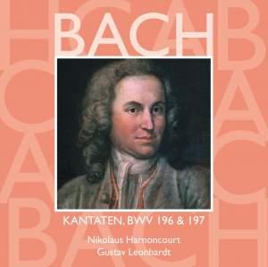 JS Bach: Sacred Cantatas BWV 196 & 197