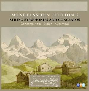 Mendelssohn Edition, Vol. 2 - String Symphonies & Concertos