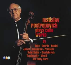 Mstislav Rostropovich plays Cello Concertos