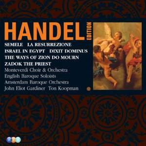 Handel Edition Volume 5 - Semele, Israel in Egypt, etc