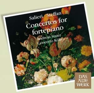 Salieri & Steffan - Concertos for fortepiano