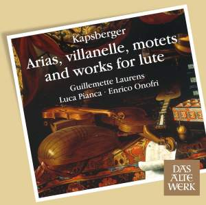 Kapsberger: Arias, villanelle, motets and works for lute