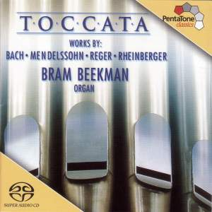 TOCCATA - 200 YEARS OF GERMAN ORGAN MUSIC