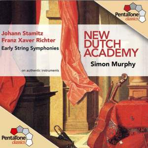 STAMITZ / RICHTER: Early String Symphonies, Vol. 1