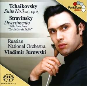 Tchaikovsky: Suite No. 3 & Stravinsky: Divertimento