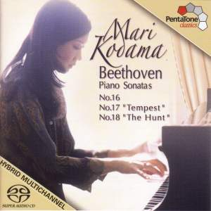 BEETHOVEN: Piano Sonata Nos. 16-18