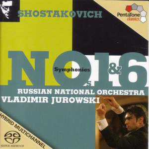 SHOSTAKOVICH: Symphonies Nos. 1 and 6