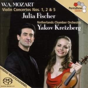 W.A. Mozart - Violin Concertos Nos. 1, 2 & 5