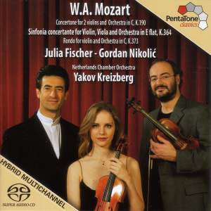 Mozart: Sinfonia concertante, Rondo for violin & Concertone in C