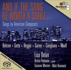Vocal Recital: Mentzer, Susanne - Bolcom, W. / Getty, G. / Heggie, J. / Garner, D. / Corigliano, J. / Woolf, L.P. (Songs by American Composers)