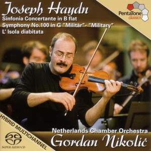 """Haydn: Sinfonia Concertante in B Flat Major / Symphony No. 100, """"Military"""""""