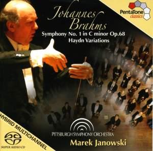BRAHMS: Symphony No. 1 / Haydn Variations